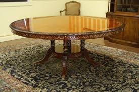burl wood dining room table luxurious inch burl walnut and pearl inlaid dining table round