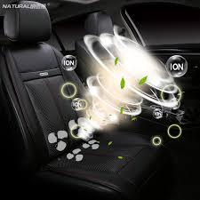 coussin si e auto 12 v universel en cuir de voiture coussin siège de voiture chauffée