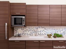 bologna blue pattern mosaic tiles used as a splashback tile in