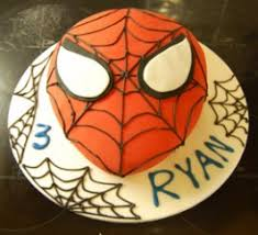 spiderman cake baking mad