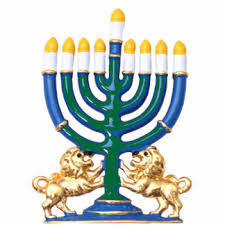 menorah photo statuettes cutouts sculptures zazzle