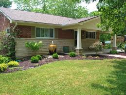 and simple landscaping ideas front house