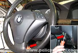 bmw e60 5 series steering wheel u0026 driver airbag replacement 2003