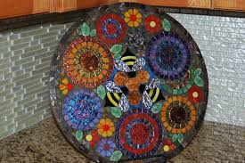 Diy Mosaic Table 40 Diy Mosaic Design Ideas With Tile Rocks And Glass