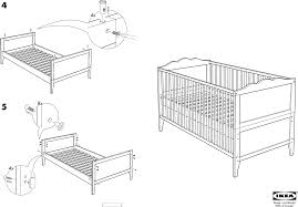 Graco Lauren Convertible Crib Instructions by Crib Into Bed Instructions Creative Ideas Of Baby Cribs