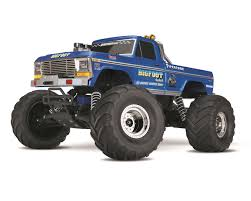 monster truck race track toys bigfoot no 1