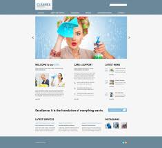 website template 47850 cleanex cleaning company custom website
