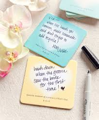 wedding coasters wedding coaster ideas weddings ideas from evermine