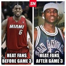Heat Fans Meme - heat fans before after game 3 scoopnest com