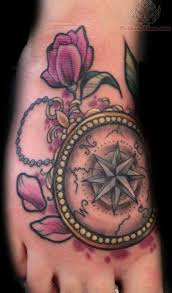33 best compass tattoo designs for women printable images on