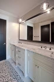 How To Frame Bathroom Mirror Framed Bathroom Mirror Design Ideas