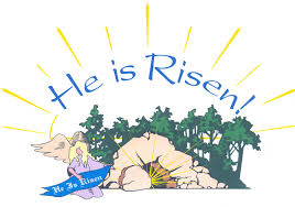 13 he is risen free easter clip art vector images he is risen