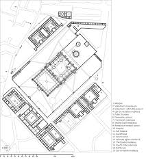 floor plan of mosque sinan u0027s ambivalence journal of the society of architectural