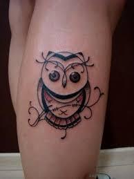 tattoo girl owl 73 marvelous owl tattoos on leg