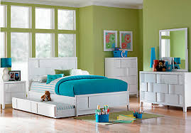 Rooms To Go Full Size Beds Shop For A Hayden Lane White 5 Pc Full Bedroom At Rooms To Go Kids