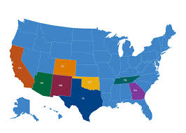 New Mexico On The Map by Donors Foundation Board Of Directors New Mexico State