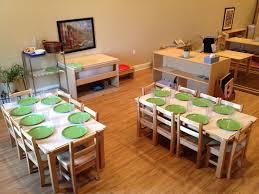 montessori toddler classroom table setting palencia montessori