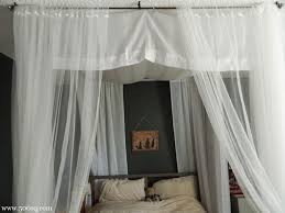 Easy Way To Hang Curtains Decorating 92 Best Canopy Images On Pinterest Bed Canopies 3 4 Beds And Diy