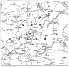 Amherst College Map New Boston Historical Society