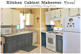 Old Kitchen Cabinet Makeover Journeys With Juju Kitchen Cabinet Makeover The Reveal