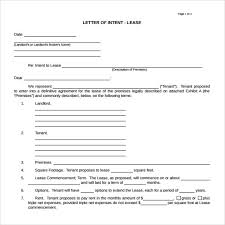 letter of intent real estate 9 download free documents in