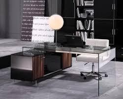 Glass Office Desk Office Desks At Contemporary Furniture Warehouse Office Desks Sale