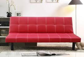 red leather sofa bed uk surferoaxaca com