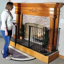 beautiful decoration baby proof fireplace screen child guard