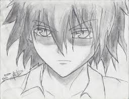 easy pencil drawing boys anime boy drawing in pencil easy google