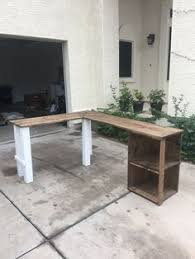 Homemade Wooden Computer Desk by The Rustic Farmhouse L Shaped Desk By Lostdogwoodworks On Etsy