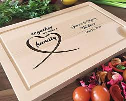 cutting board personalized personalized housewarming gifts more engrav3me store