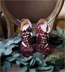 wedding shoes houston 12 laser cut burgundy wedding shoes weddingomania jescah venne