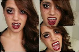 vampire halloween tutorial tvd inspired makeup hair u0026