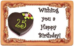 wishes 25 year with wishes best wishes for your 25 years th birthday messageswishesgreetings