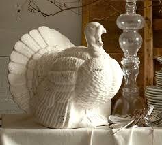 white turkey decor diliberto photo and design thanksgiving decor