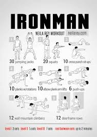 iron man workout bodyweight routine pop workouts