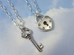 couples necklace key to my heart couples necklaces 2 necklaces sterling silver