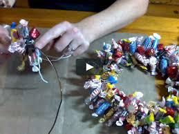 candy wreath wreath tutorial with cari fennell on vimeo