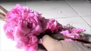 indian fresh flower rose garland making vinayaka chavithi