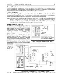 rpm activated switch msd 7330 7al 3 ignition control
