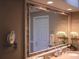Bathroom Mirrors White by Mirror Design Ideas Rectangular Shape Fancy Bathroom Mirrors