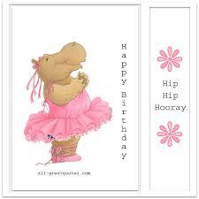 free birthday cards for kids happy birthday hip hip hooray