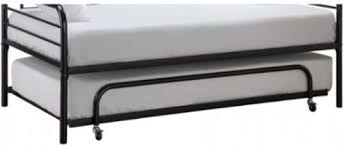 Daybed Trundle Bed Twin Metal Daybed Trundle Bed Frame Black No Mattress What U0027s It