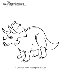 triceratops coloring page kleurplaat printable t rex and