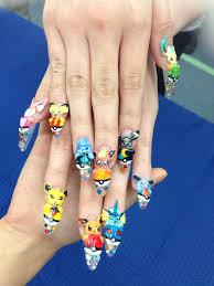 amazing pokemon eevee nail art