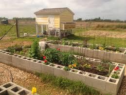 mavis mail lindsey from texas sends in cinder block garden