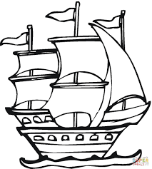 spanish expedition coloring page free printable coloring pages