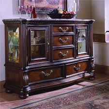 samuel lawrence san marino glass door credenza wayside furniture
