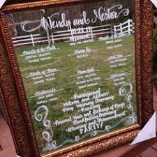 wedding menus and programs calligraphy wedding menu mirrors by coastalcalligraphy