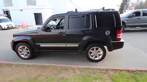 black jeep liberty with black rims 2009 jeep liberty limited black 9w547756 redmond seattle